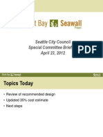Seattle Seawall Replacement Project Presentation 042312