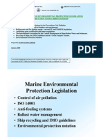 Marine Environmental Protection Legislation
