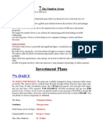 Royalty 7 Investment Plan