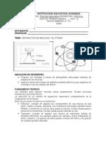 Guía # 3 Separación de mezclas y el atomo