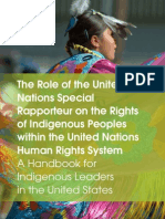 UNSR Handbook for Indigenous Leaders