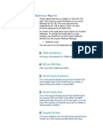 TDMA Summary Reports