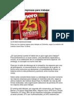 25 Mejores Empresas Para Trabajar