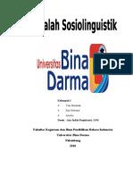 Makalah Sosiolinguistik 2