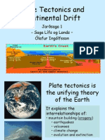 5-Continental Drift and Plate Tectonics