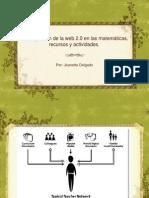 La integración de la web 2.0 en las matemáticas, recursos y actividades