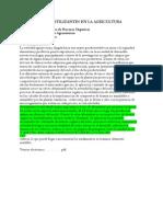 El Uso de Biofertilizantes en La Agricultura