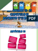 Expo Art 18 Al 25 Decreto 1713 de 2002
