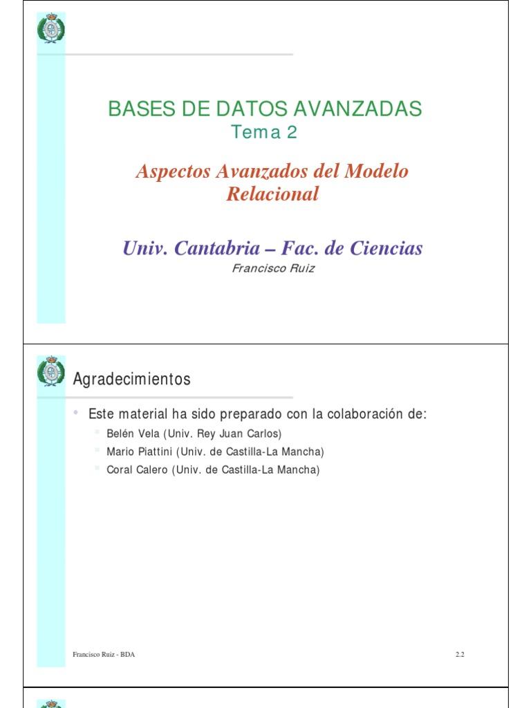 Bases De Datos Avanzadas Maxpay Saldo 20