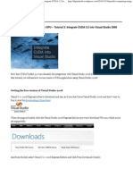 Integrate CUDA 3.2 Into Visual Studio 2008