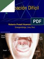 Intubación Difícil1