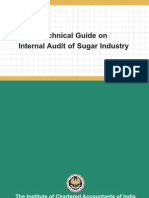 Technical Guide on Internal Audit of Sugar Industry