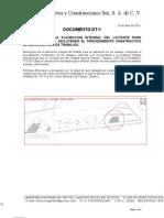 DT-1 Planeación Integral Inc. proc. const. EJEMPLO