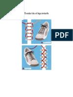 15 how to tie shoelaces / 15 Moduri de a-ti Lega Sireturile