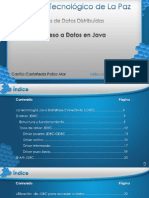 Acceso a Datos en Java