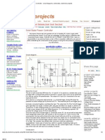 Solid State Power Controller - Circuit Diagrams, Schematics, Electronic Projects