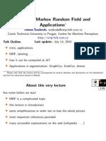 Image as Markov Random Field and Applications