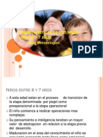 Caracteristicas de los niños