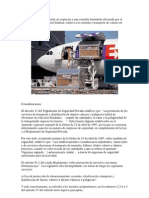 Custodia y Transporte de Bienes en Recintos Aeroportuarios