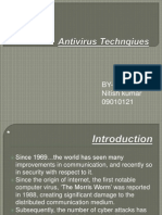 Antivirus Technqiues