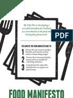 The Food Manifesto