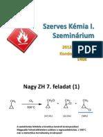 KZ Szerves szeminárium 8