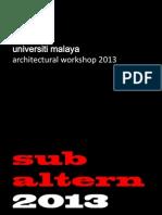 universiti malaya-workshop2013