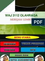 WAJ 3112 OLAHRAGA