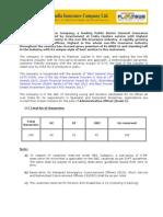Www.uiic.Co.in PDF Recruitment Advt-2012