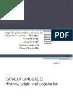 Catalan Language Guion