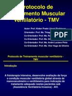 Protocolo de Treinamento Muscular Ventilatorio - TMV