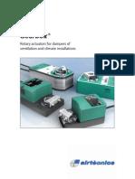 Actuators Rotary Electric Catalog Airtecnics