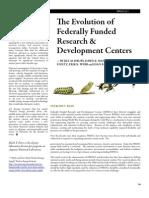 Evolution of FFRDCs