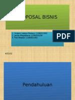 Proposal Bisnis