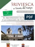 Cartel Conferencia Arcedianato