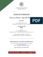 BARCELOS - FORMAÇÃO ACESSO AO DIREITO - QUESTÕES PRÁTICAS