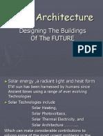 Solar Architecture