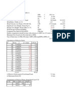 Free Board Calculation of Dams