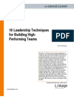 Phil Hark Ins 10 Leadership Techniques for Building High Performing Teams 0506