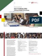 Summer Academy 2012-Monitor