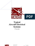 Typical Aircraft Electrical Systems
