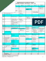 Academic Calendar Jul-Nov 2012 - (Revised)