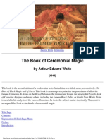 Book of Ceremonial Magic -Arthur Edward Waite