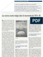 Navire école belge en 14-18 La Tourmente