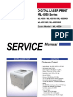 Service Manual ML 4551ND
