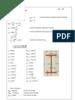 calcul stalp metalic
