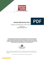 Semantic Web Services Part 1