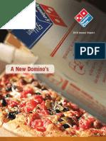 2010 8.5x11 Domino'sPizza Annual Report Sm