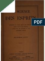 La Science Des Esprits 1865