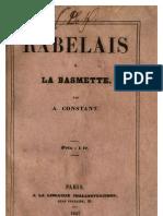Rabelais à la Basmette 1847